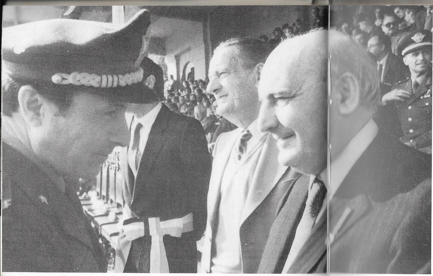 Boldrini con il Capo di S.M. Generale della Difesa, Gen. Bisognero e Zaccagnini
