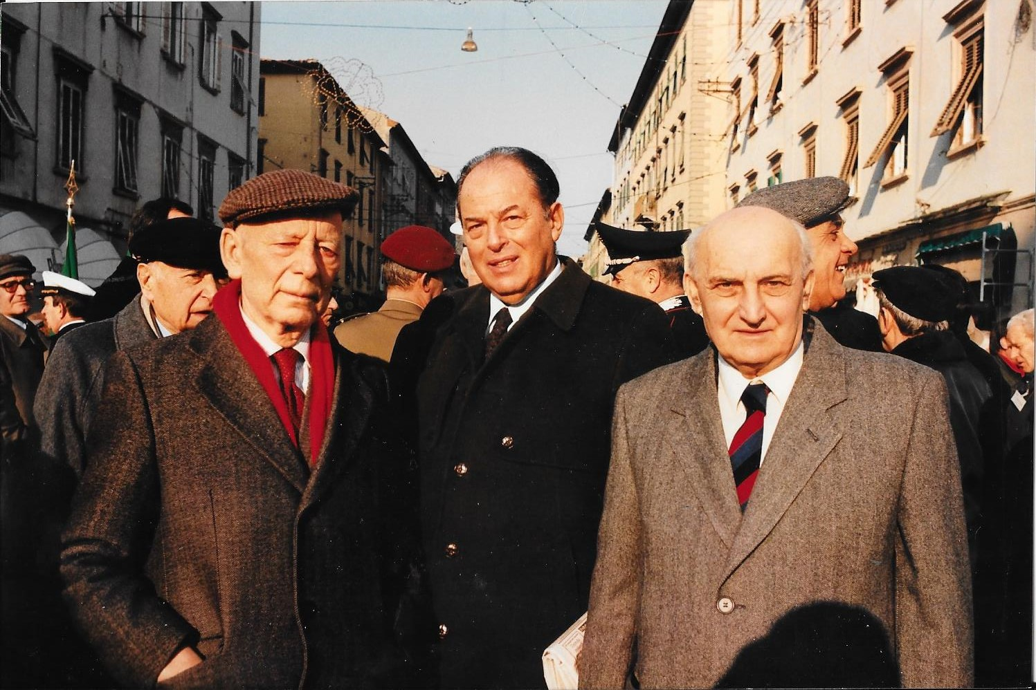 Boldrini con Giancarlo Payetta a Livorno