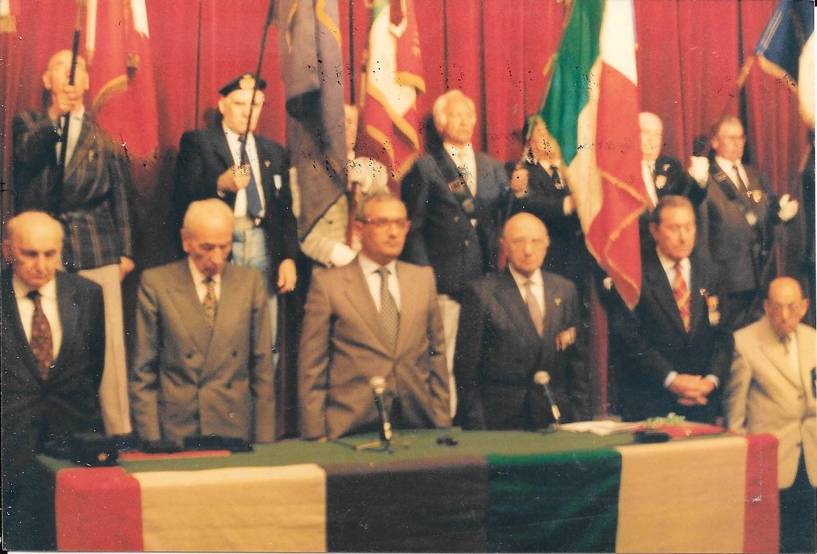 Boldrini con esponenti della Resistenza francese a Marsiglia, 1996